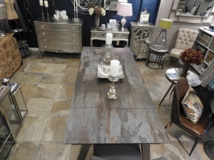 slate top dining table