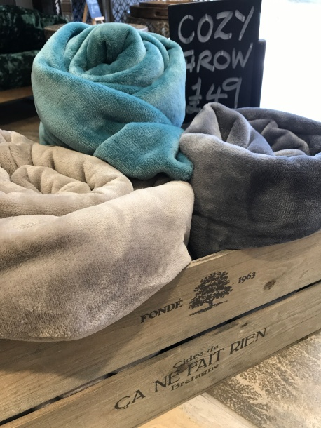 soft cosy throws