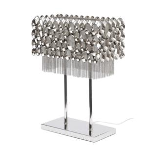 Silver Shimmer Lamp £299