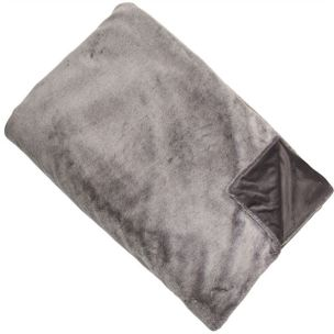 Faux Fur Throw Grey £80