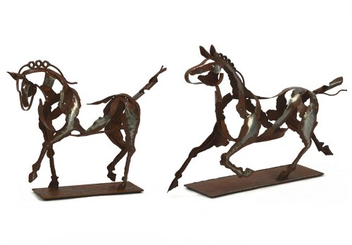 Metal Horse Sculptures £49